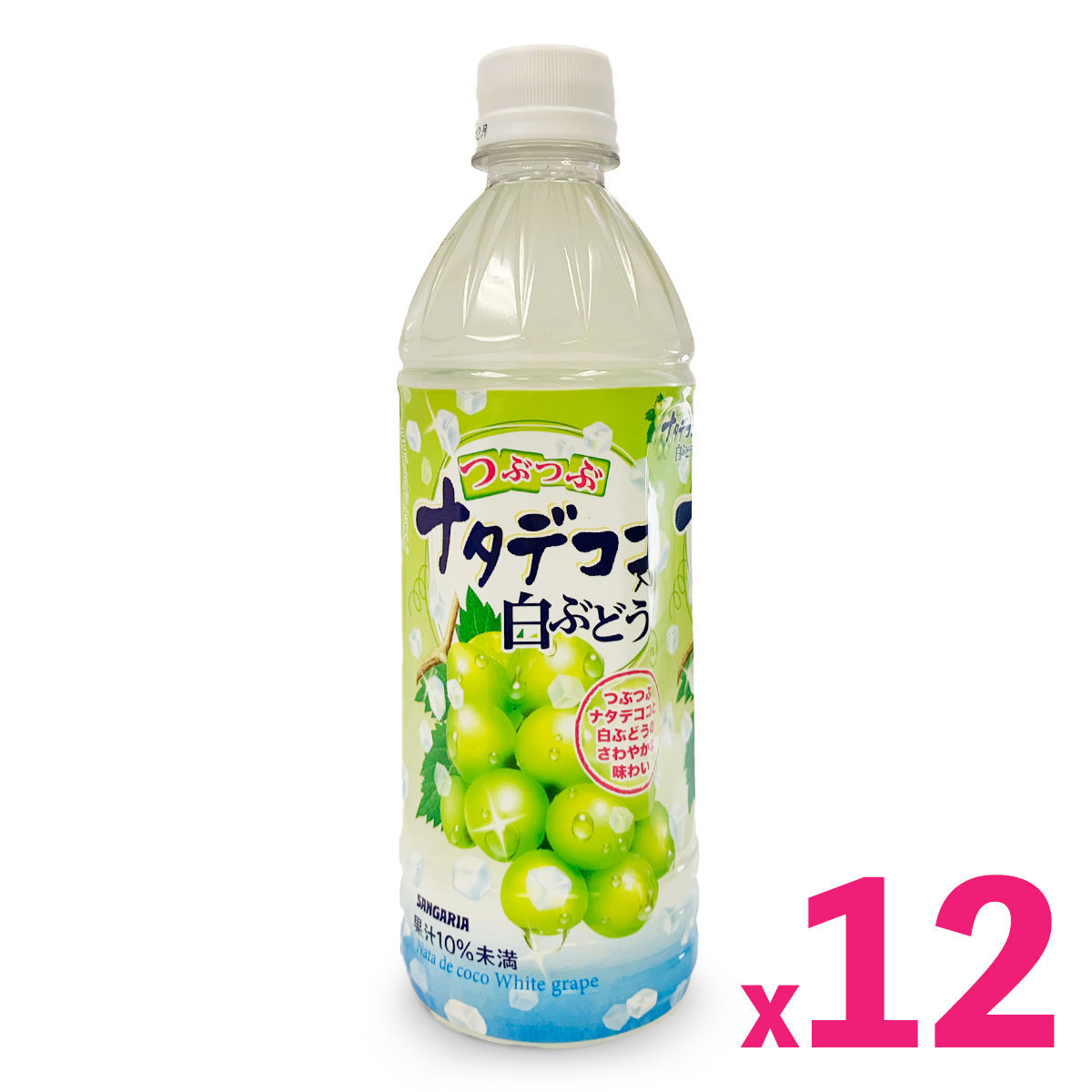 Sangaria Muscat Juice with Coconut Jelly (500ml) x 12bottles