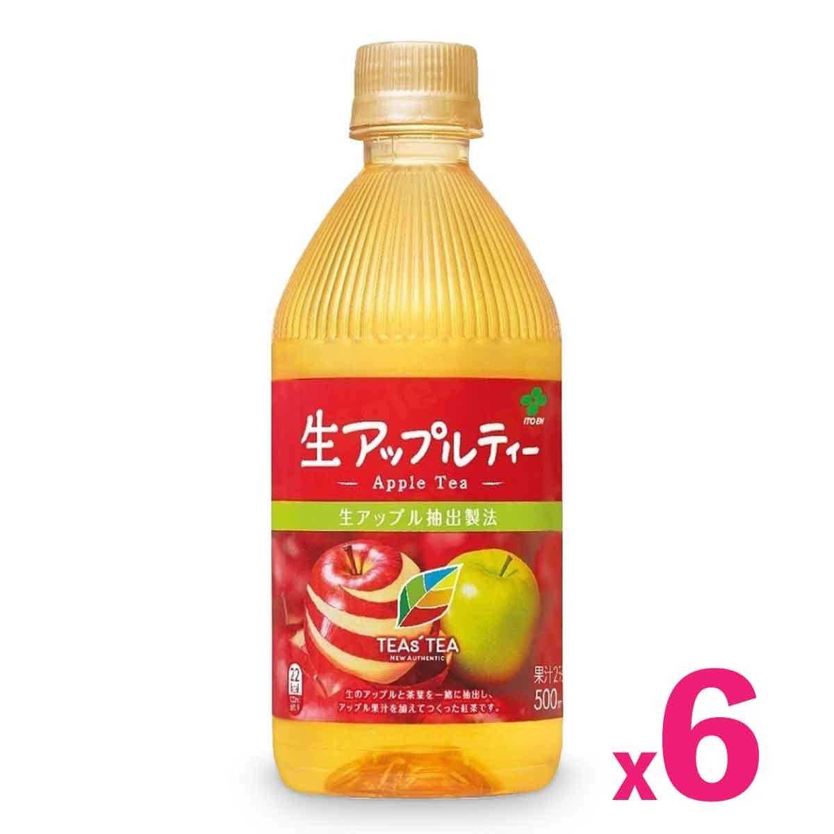 日本正宗微甜蘋果茶 (500毫升) x 6支