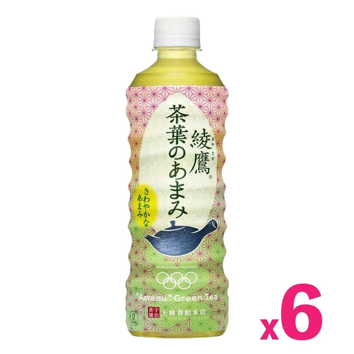 「日本版」綾鷹玉露綠茶 (525毫升) x 6支