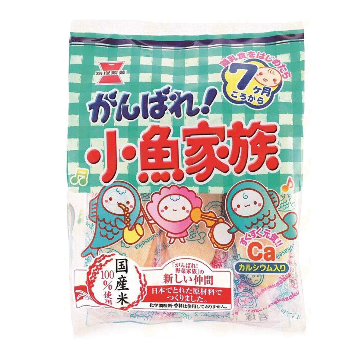 Seafood Baby Rice Puff (26pcs)
