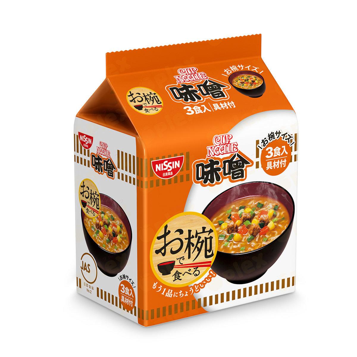 Quick Bowl Noodle - Miso (3serving)