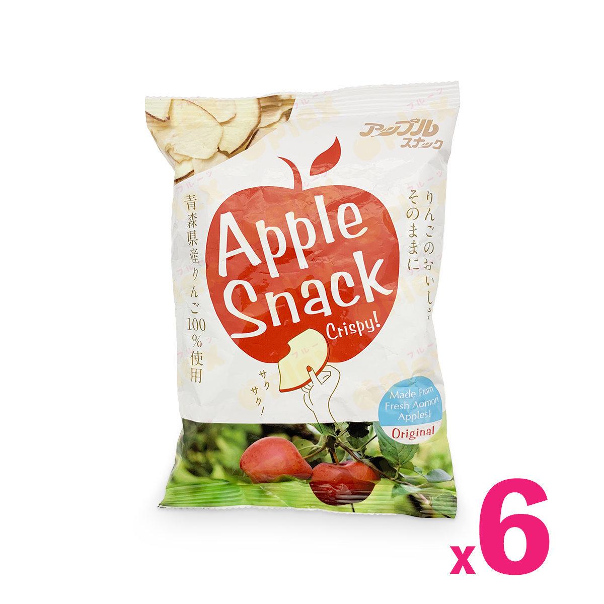青森蘋果脆片 - 原味蘋果 (45克) x 6包