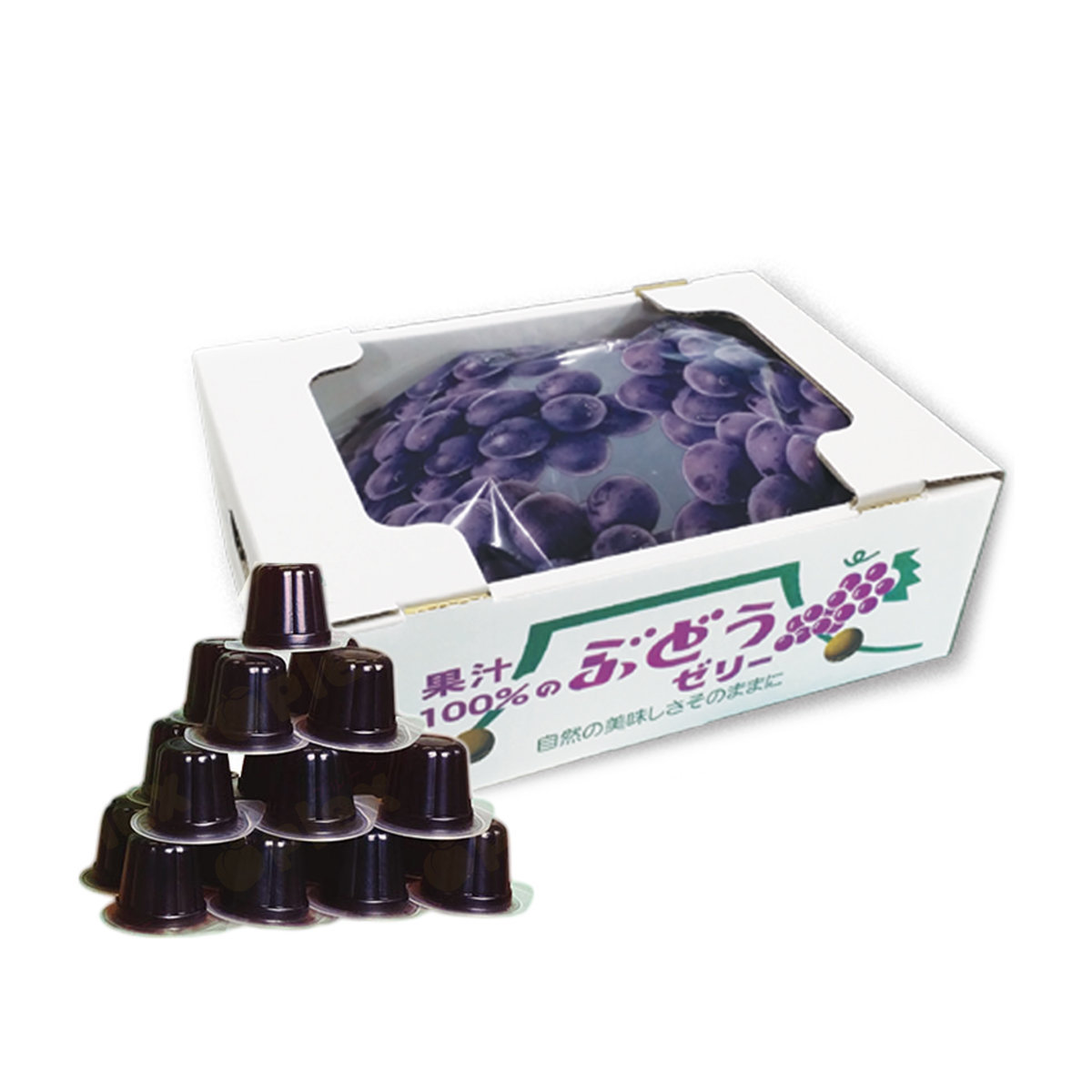 和歌山 100% 果汁果凍 - 巨峰味 (23粒)