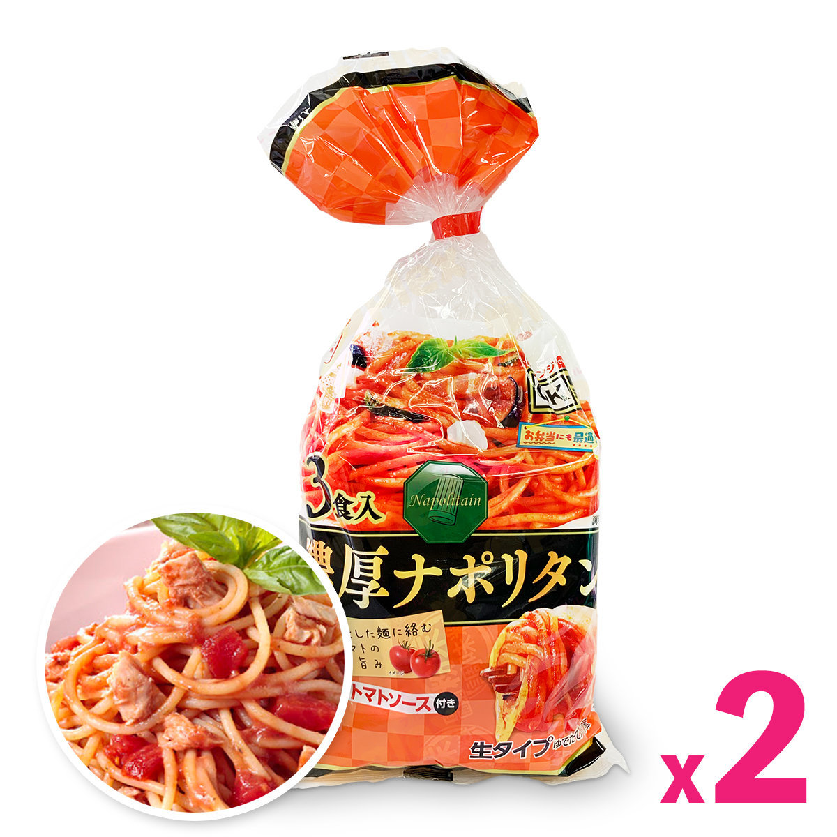Japan Instant Tomato Spaghetti (3 serves) x 2packs