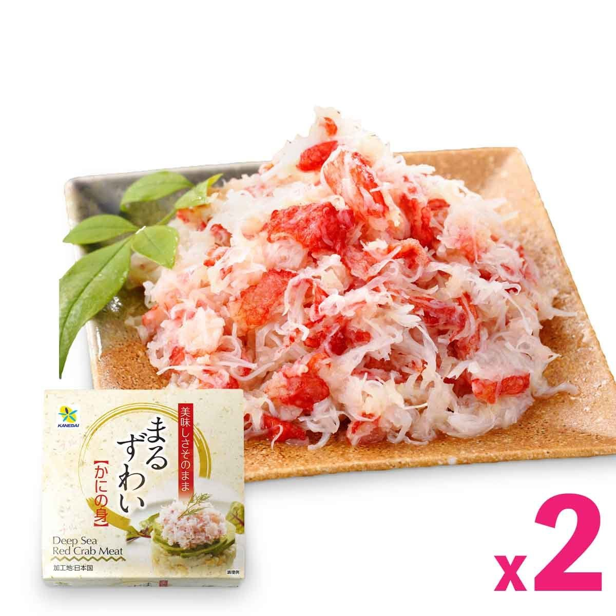 Kanedai Deep Sea Red Crab Meat (50g) x 2cans