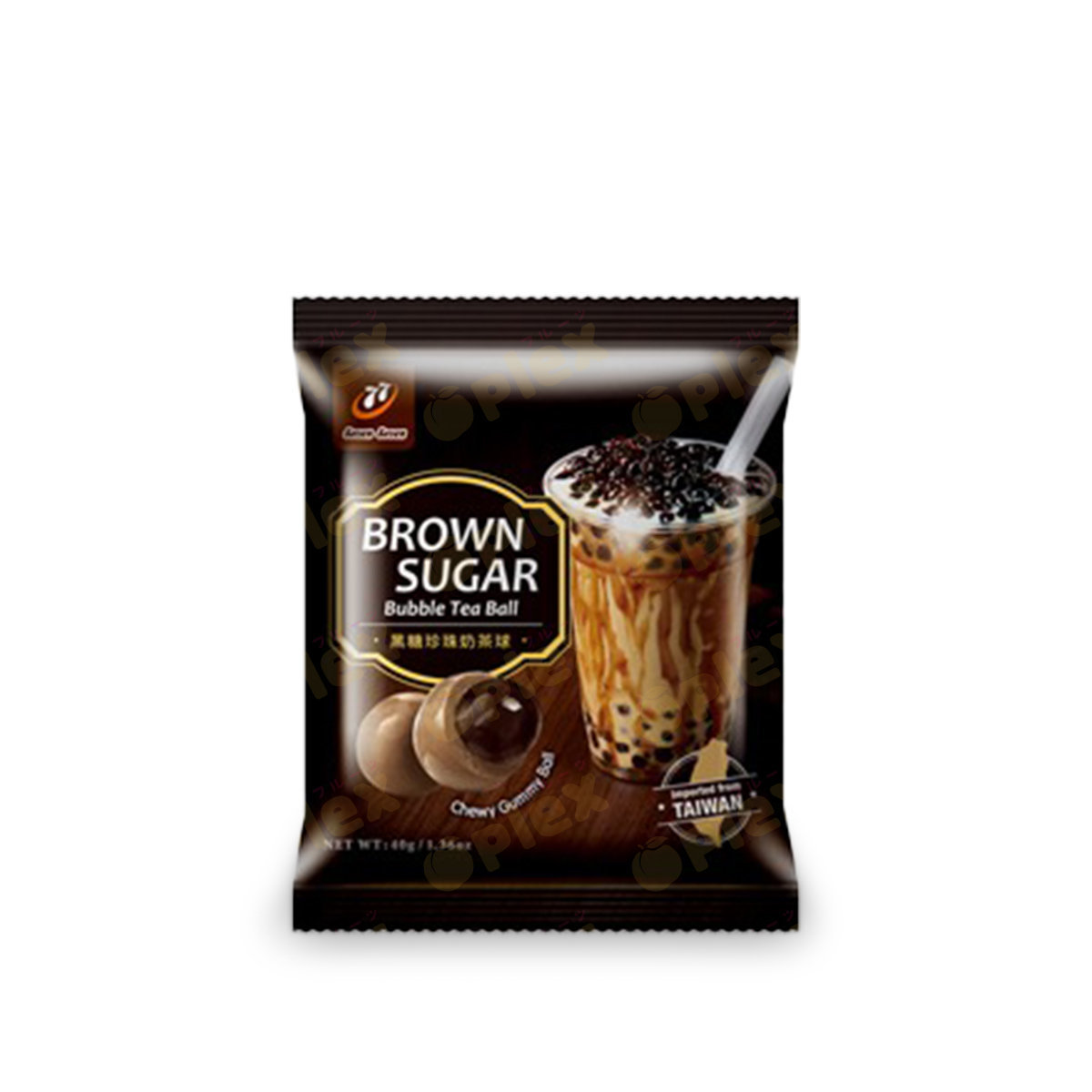 Taiwan Brown Sugar Bubble Tea Ball (40g)