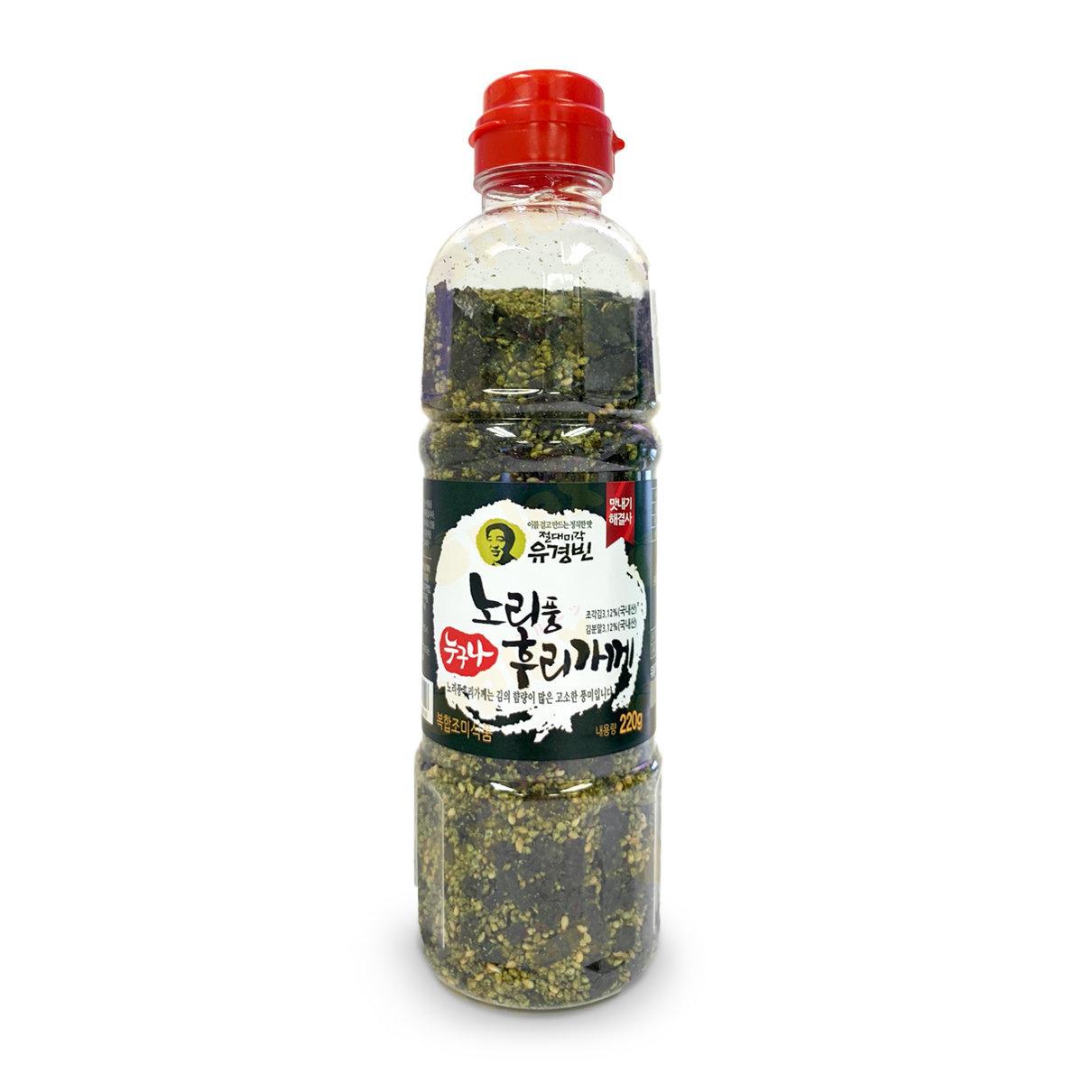 Fried Sesame Seaweed Rice Toppings/Furikake (220ml) (Green)