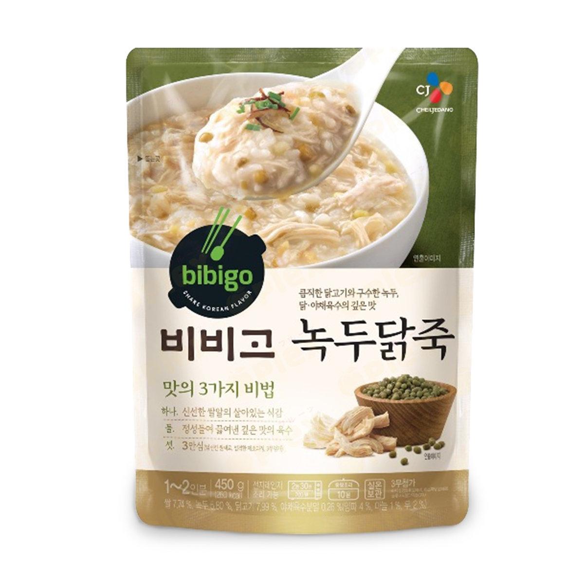 Bibigo Chicken Green Bean Congee (450g)