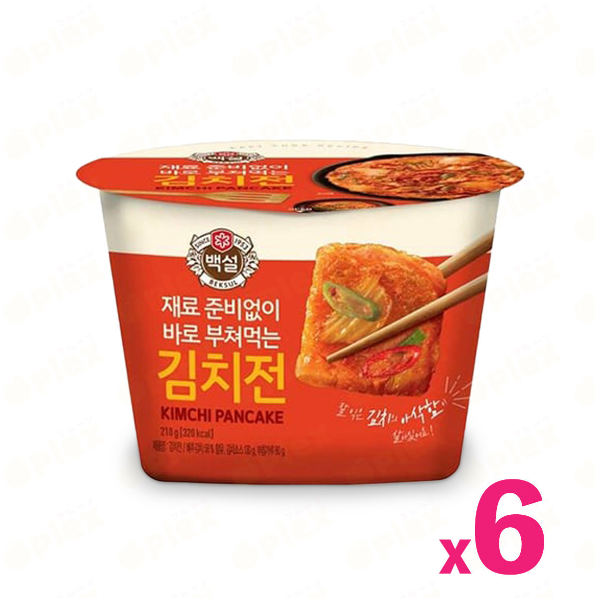CJ Easy Cook Recipe Korean Pancake - Kimchi (210g) x 6bowl