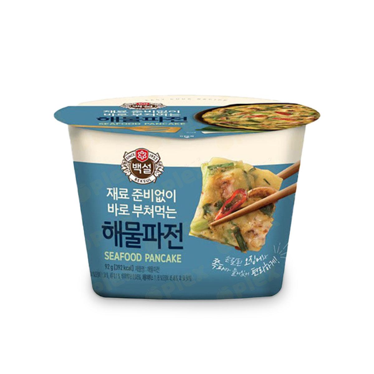 CJ Easy Cook Recipe Korean Pancake - Seafood and Green Onion (92g)