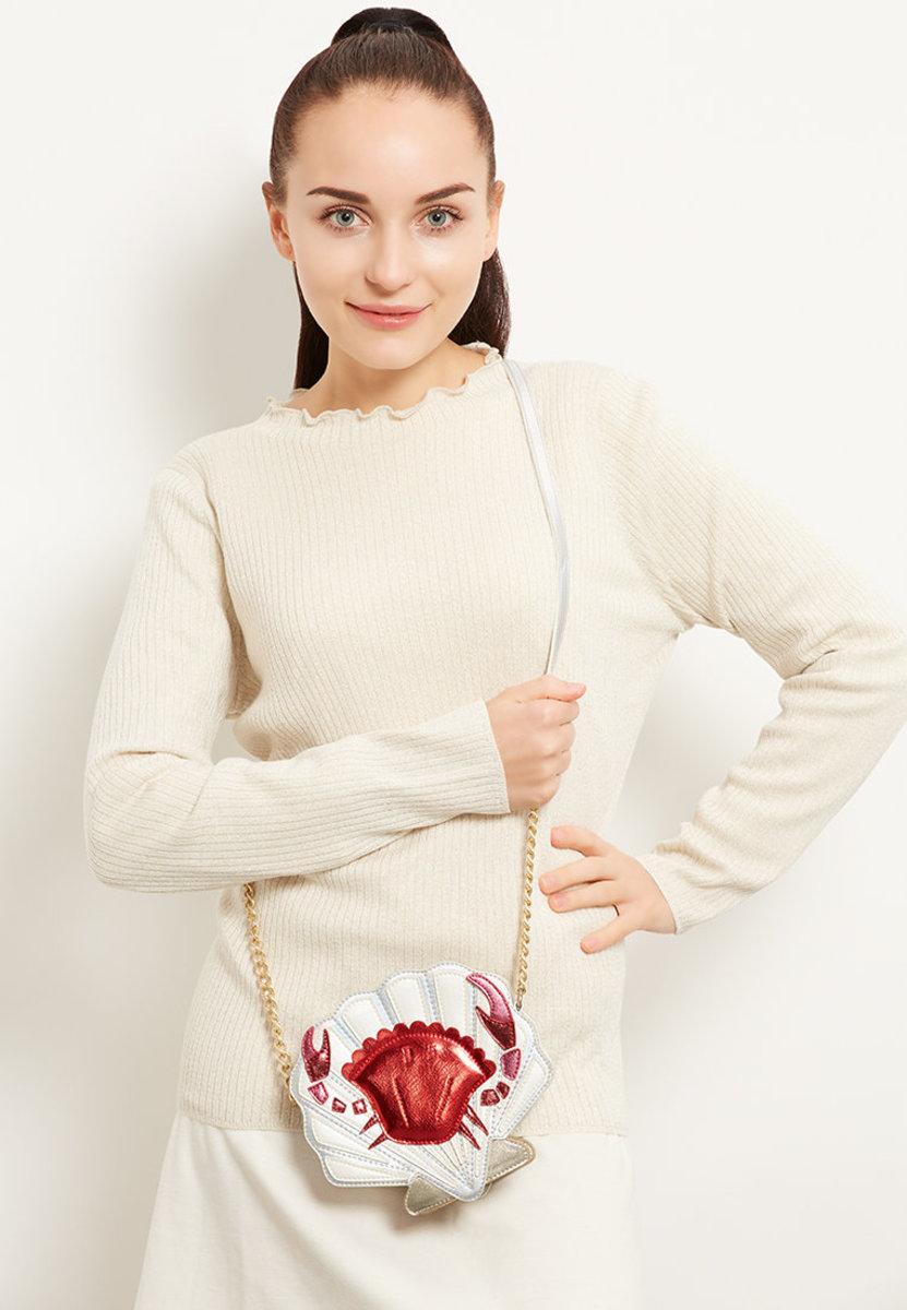 Crab Shell Cross Body Bag