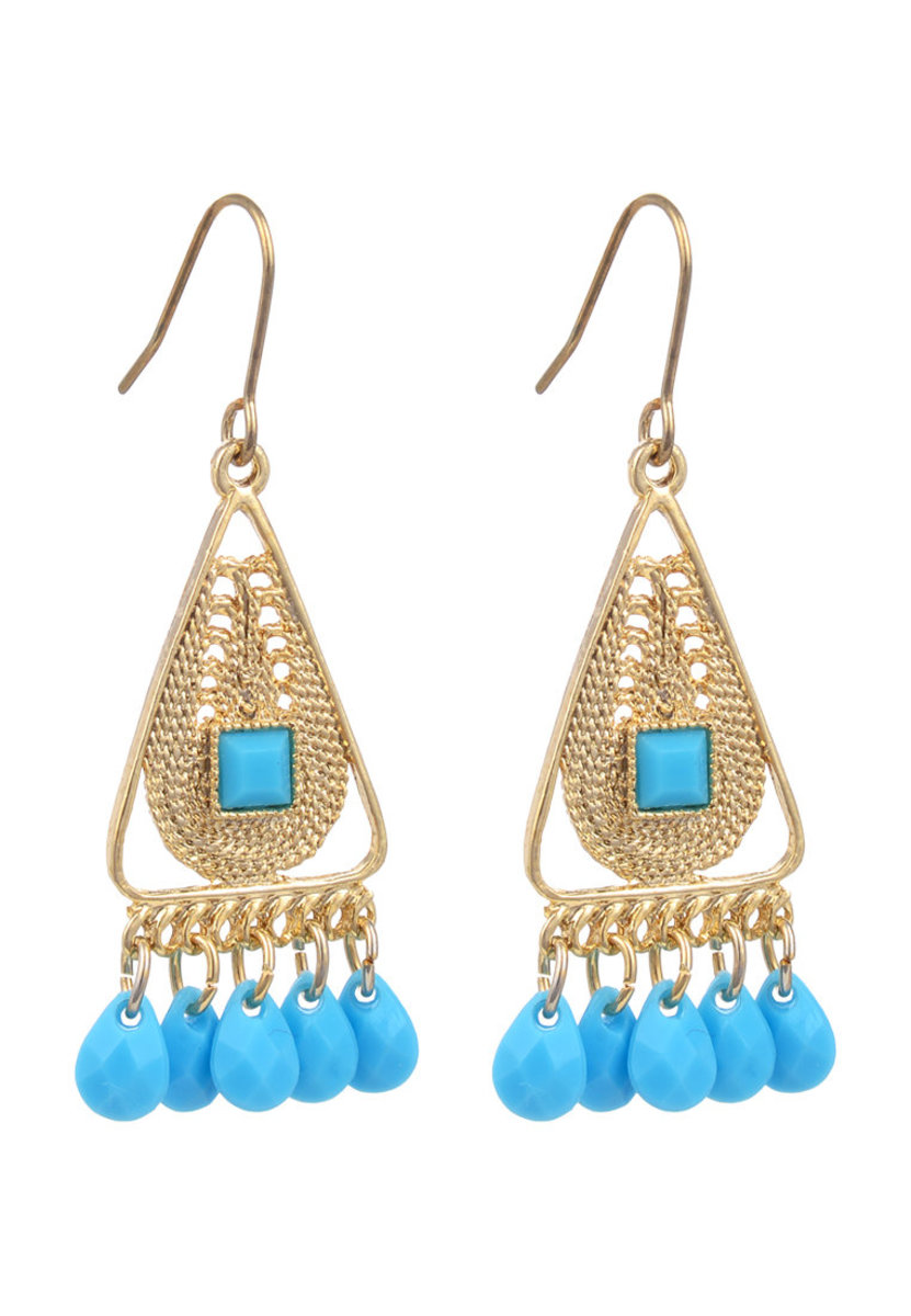 Gold Tribe  Earring