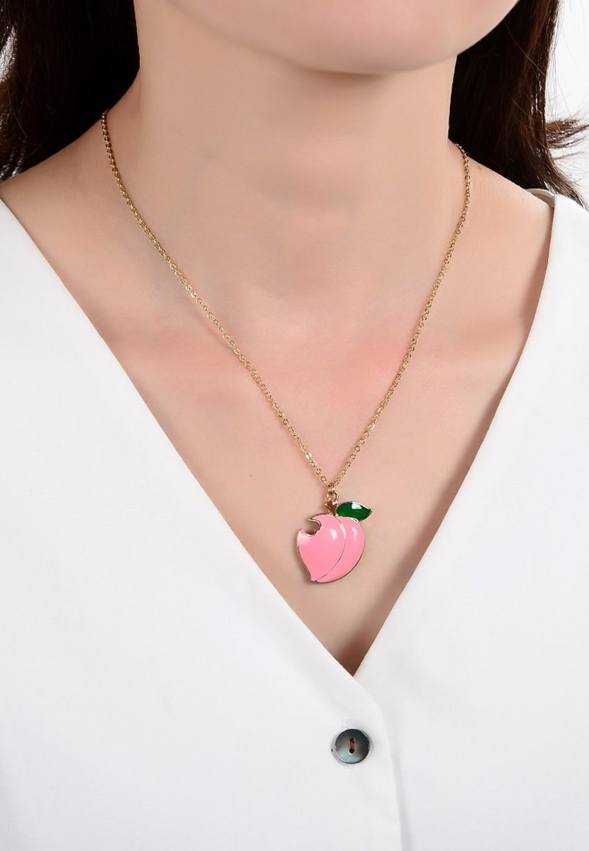 Honey peach Necklace