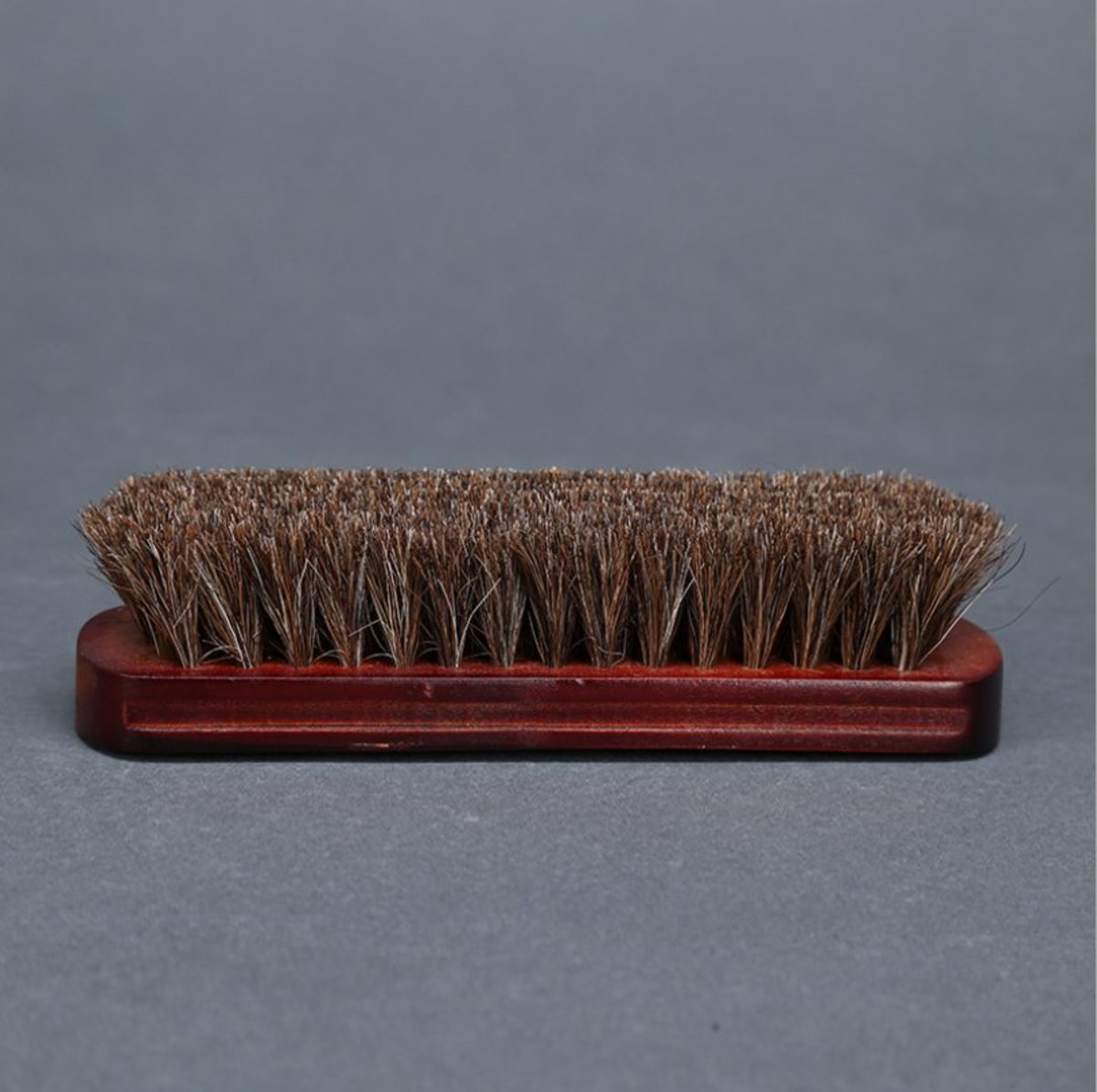 100% horsehair shoe brush