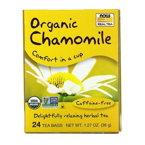 NOW FOODS Real Tea 有機洋甘菊茶 24茶包裝