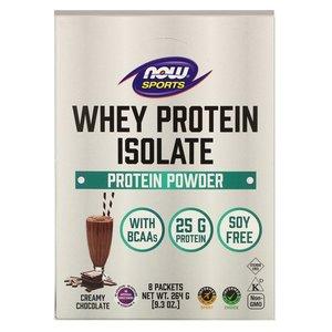Now Foods 乳清分離蛋白質粉 (奶油巧克力味) 8包裝 平行進口 8ea*33g