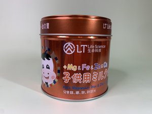 LT 兒童鎂鐵鋅鈣奶片 (日本研發  香港製造) 90克