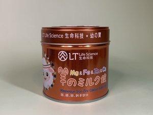 LT 鎂鐵鋅鈣羊奶片 90克