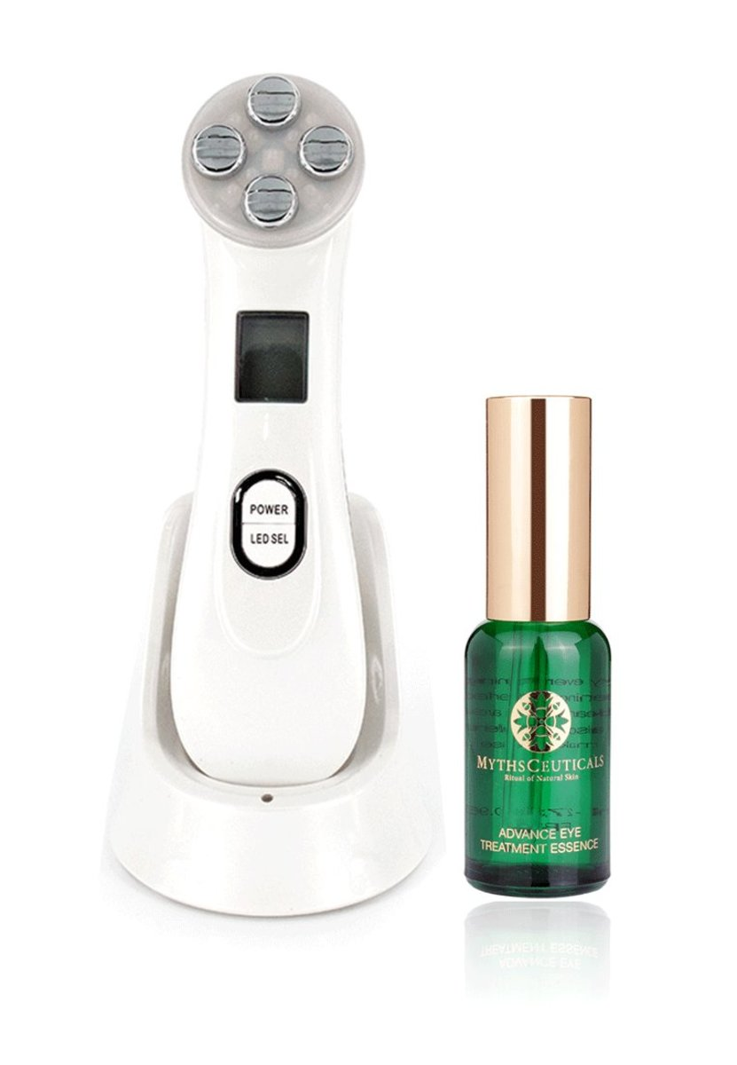 MC Skin care Set(Advance Eye Treatment Essence & EMS Color Spectrum Face Device)