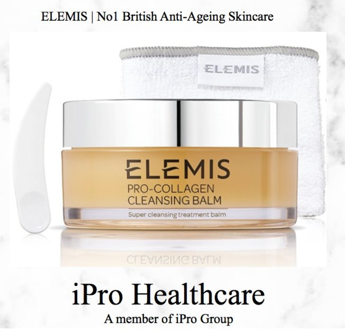Elemis Pro-Collagen Cleansing Balm 105g (Parallel imported from and made in UK)
