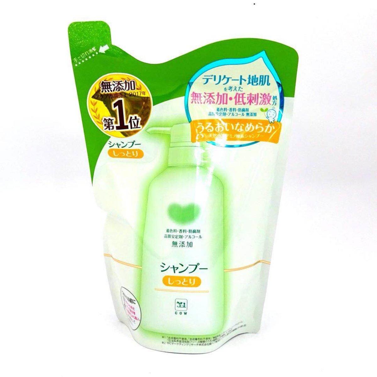 無添加洗頭水 (滋潤) 補充庄 380ml (平行進口)