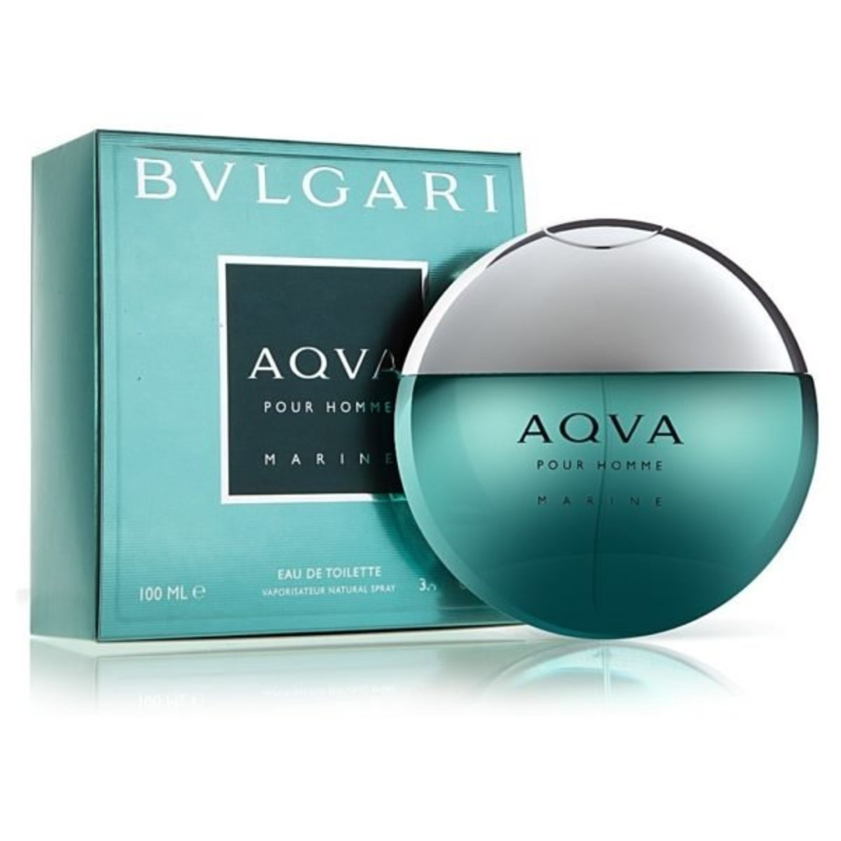 AQVA POUR HOMME MARINE (EDT) 100ML (Parallel Import)