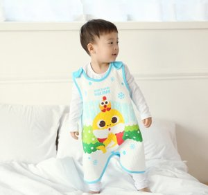 Baby&I Pinkfong睡眠背心-冬日暖意 1件