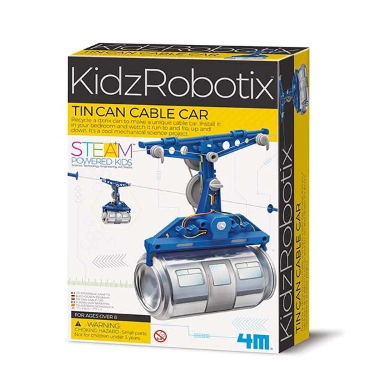 汽水罐纜車STEM教育玩具