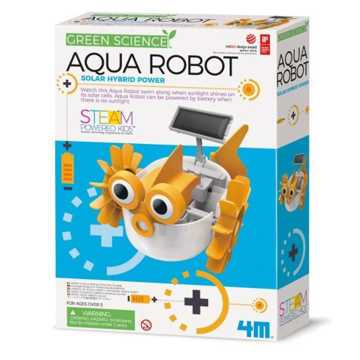 Green Science Hybrid Solar Power - Aqua Robot