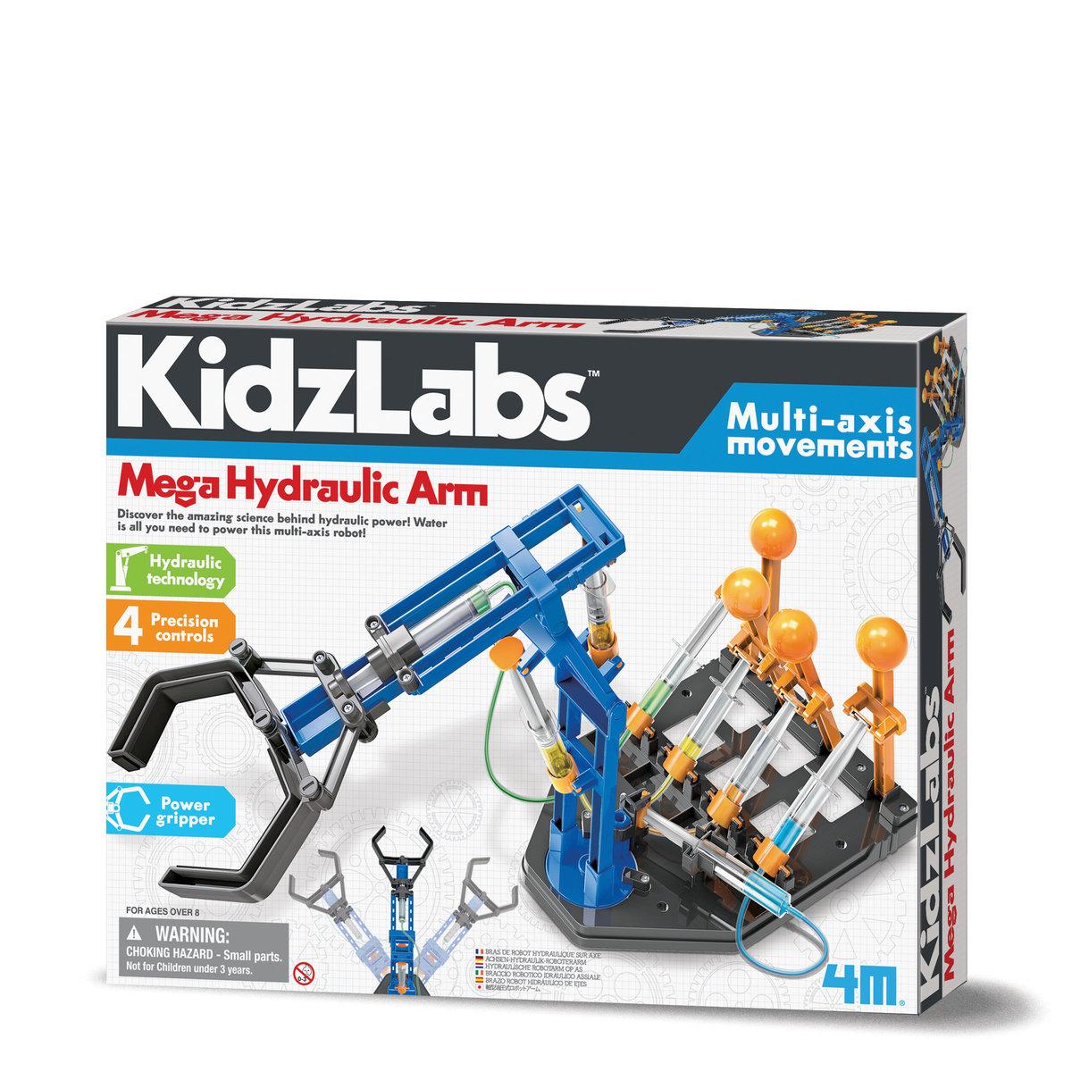 液壓機械大手臂STEM教育玩具