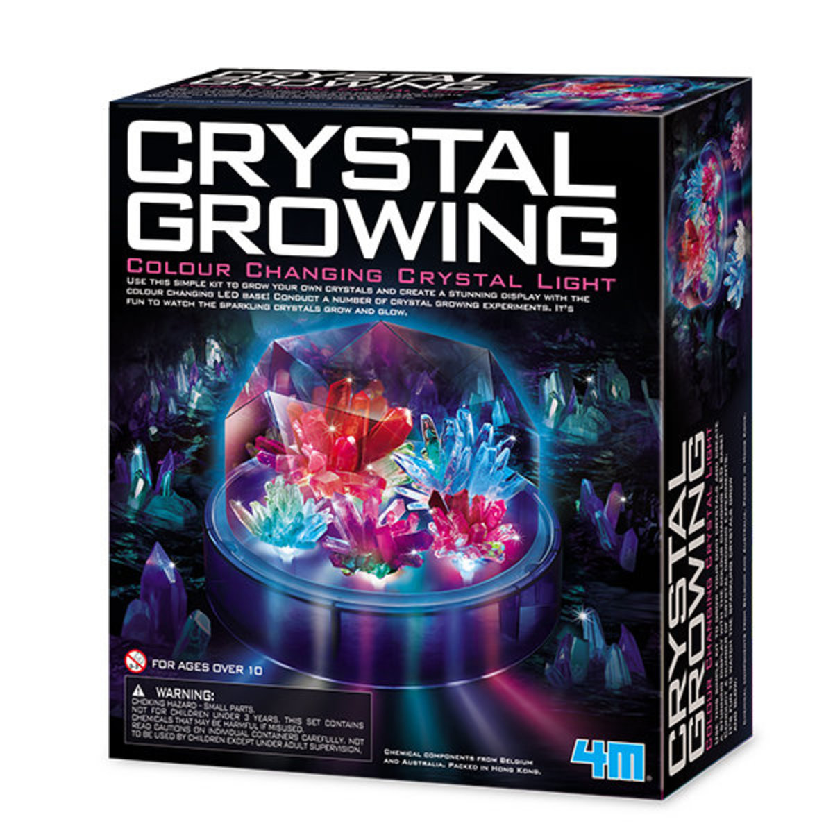 Crystal Growing Colour Changing Crystal Light