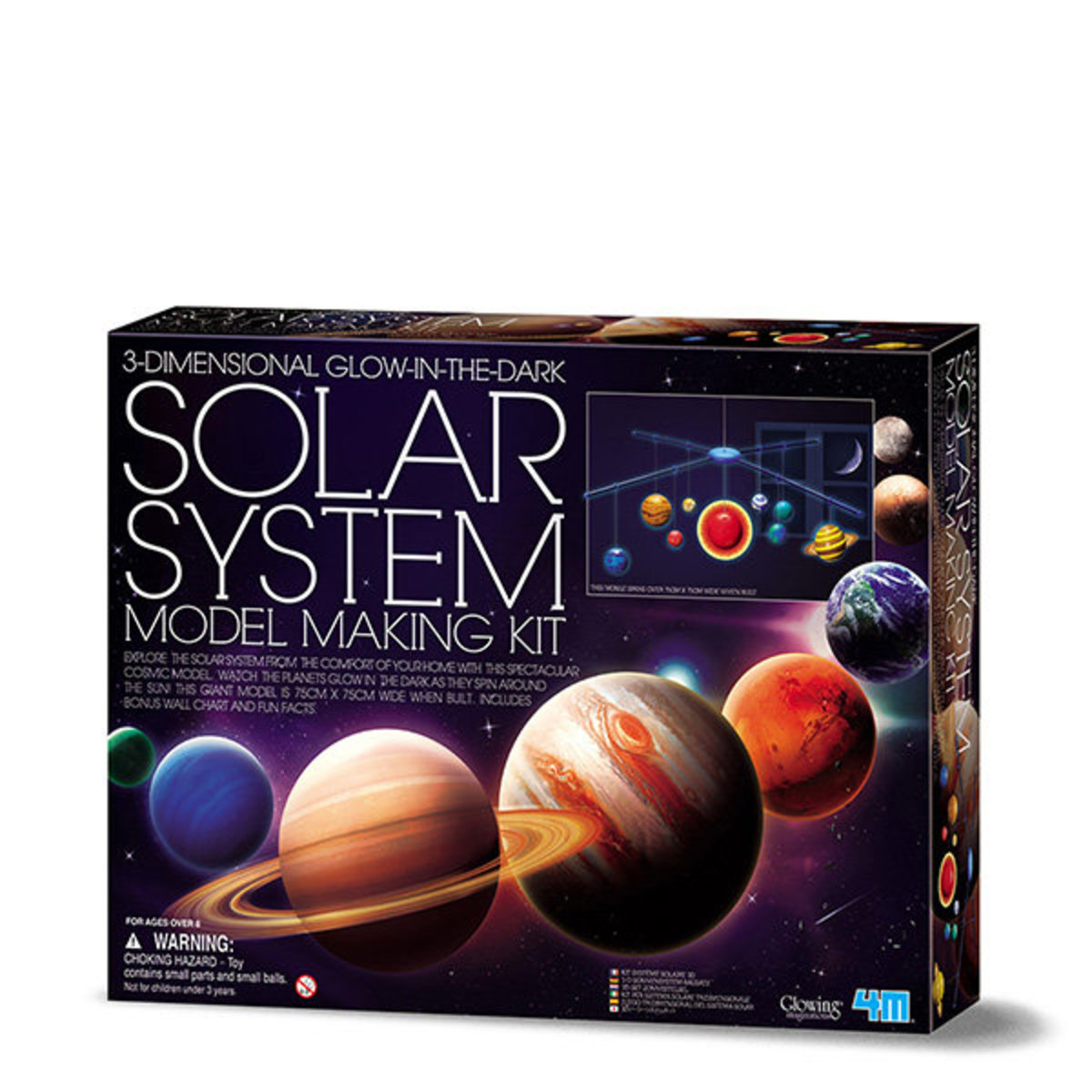 Kidz Labs 3D Solar System Mobile Making Kit