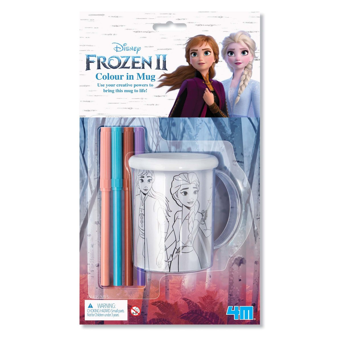 Disney Frozen Colour In Mug