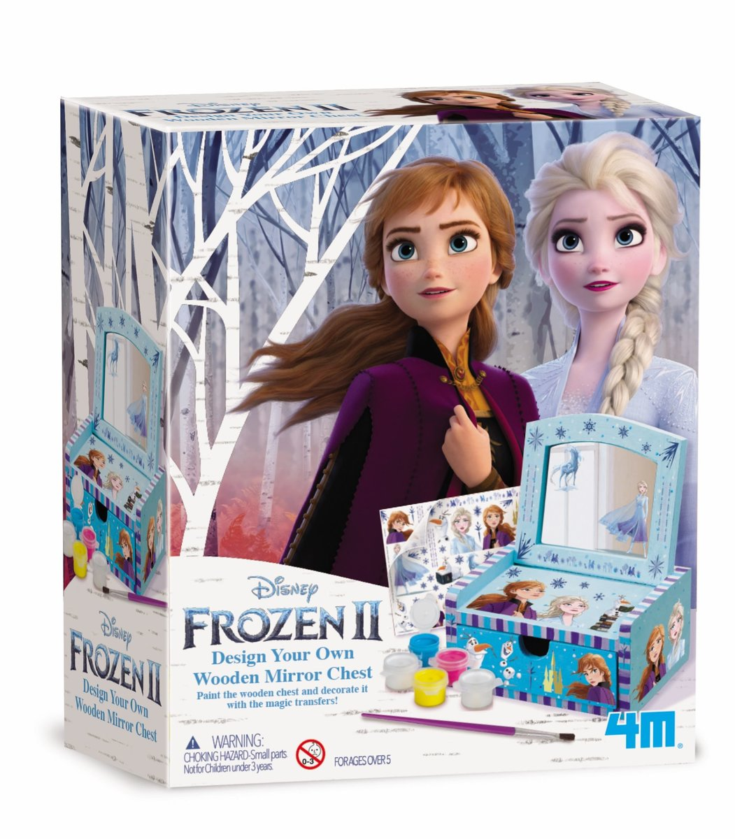 魔雪奇緣鏡盒STEM教育玩具