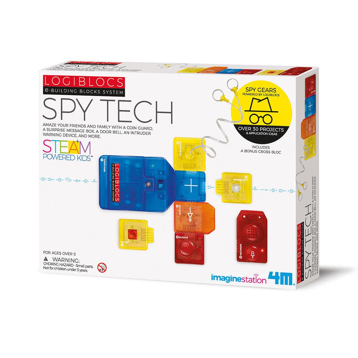 Logiblocs Spy Tech