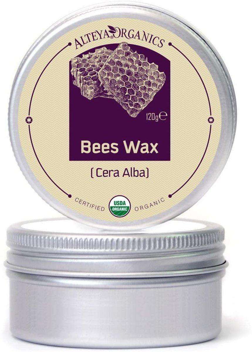 Organic Bees Wax  (Yellowish pellets) 120g