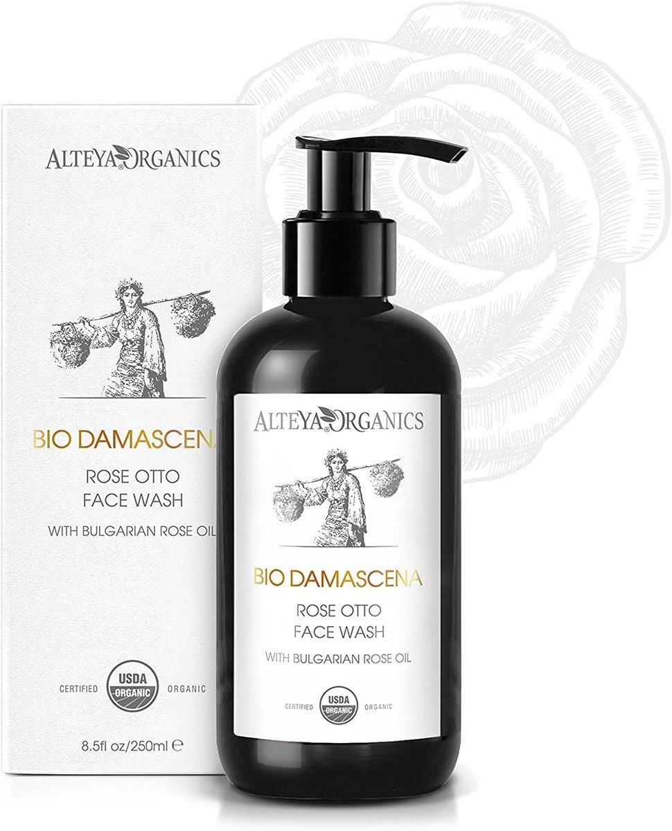 Organic Rose Otto Face Wash 250ml