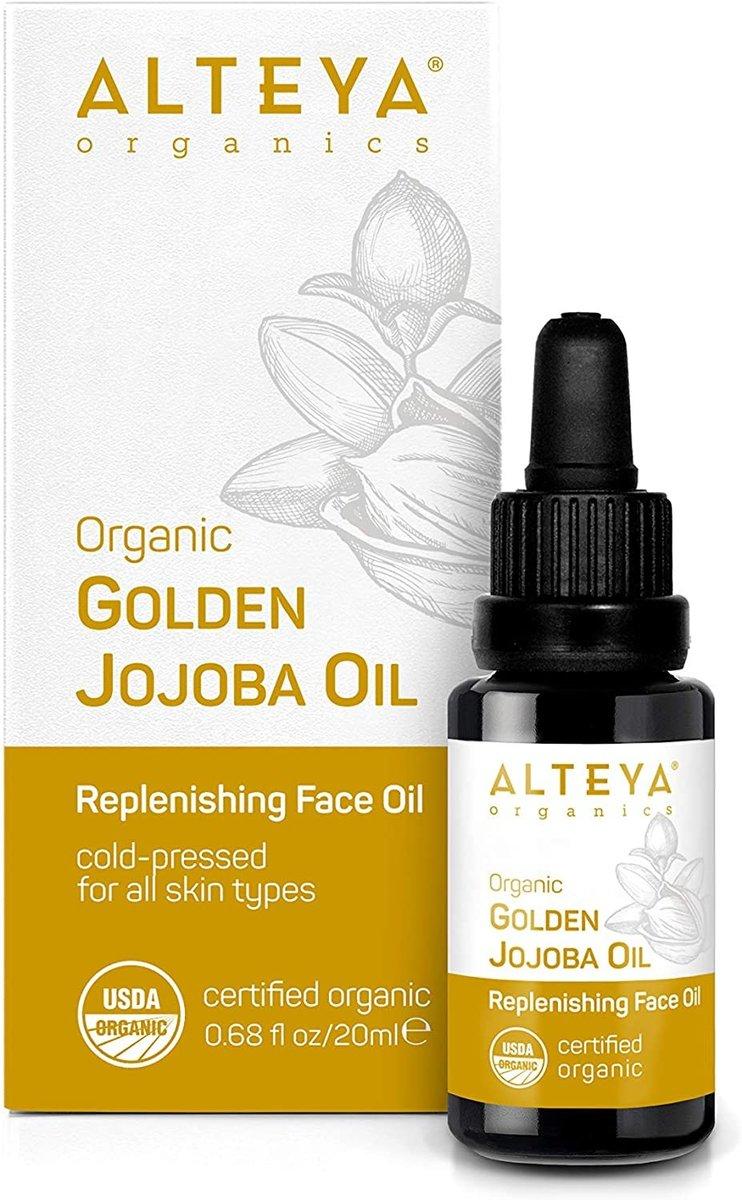 Organic Golden Jojoba Oil 20ml
