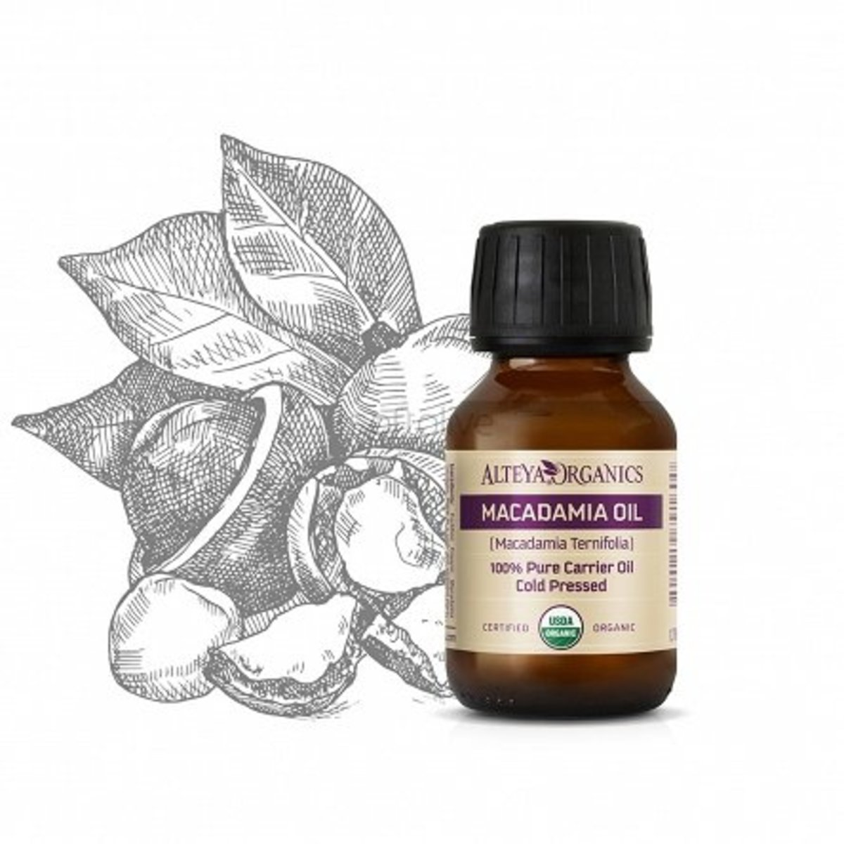 Organic Macadamia Oil 100ml