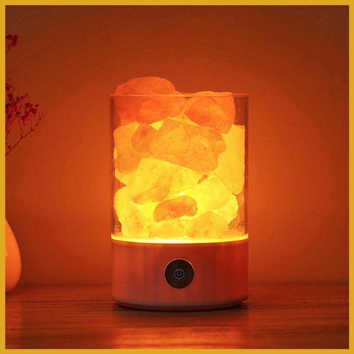 喜馬拉雅山水晶岩鹽燈