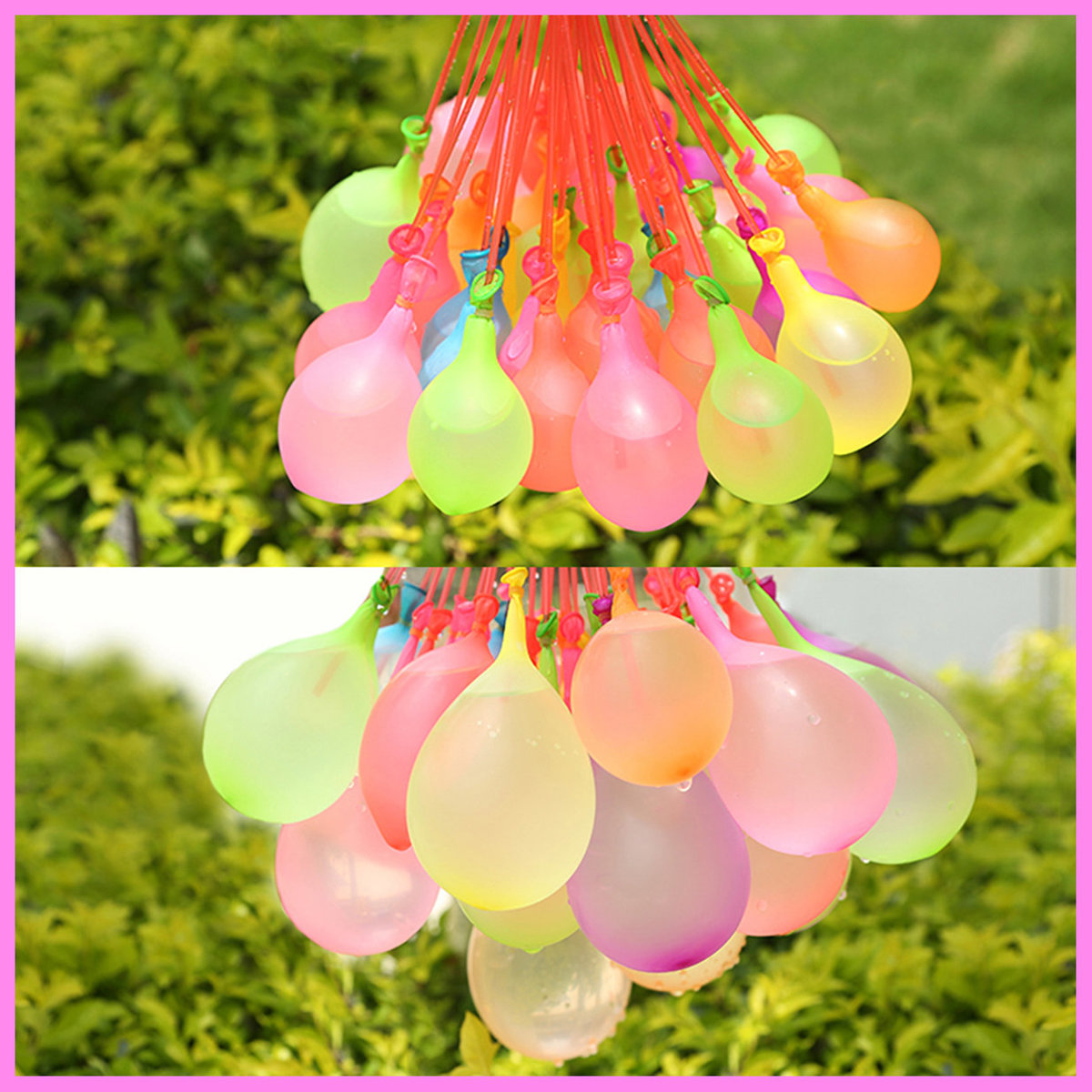 3 Pcs Easy Water Balloon Filling Set - Fills within 60 Sec