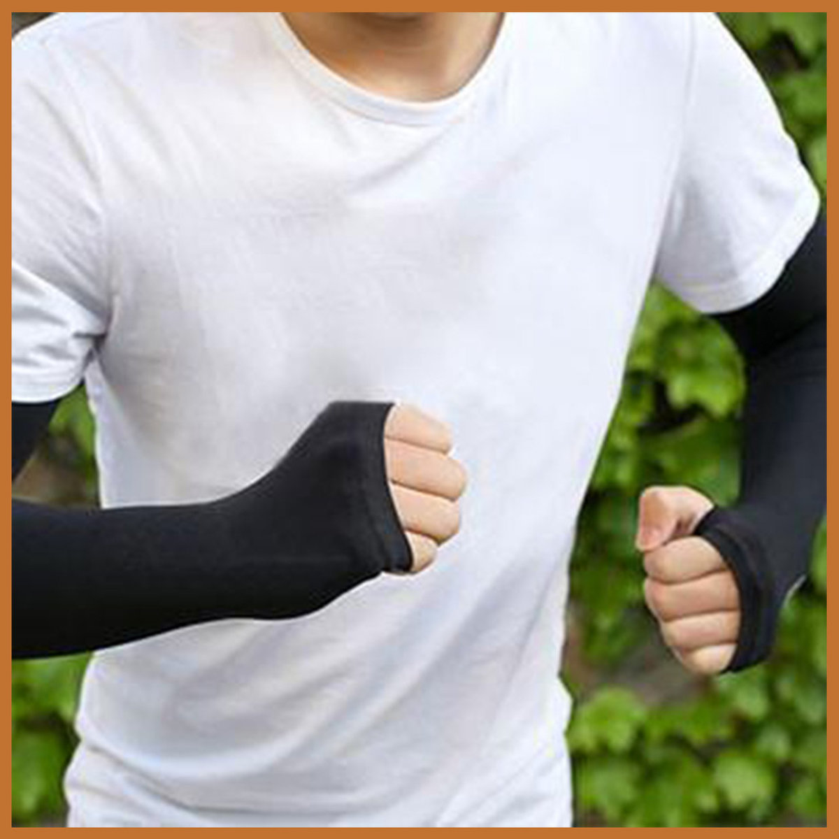 UV Protection Arm Sleeves (Black)