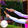 UV Protection Arm Sleeves (White)
