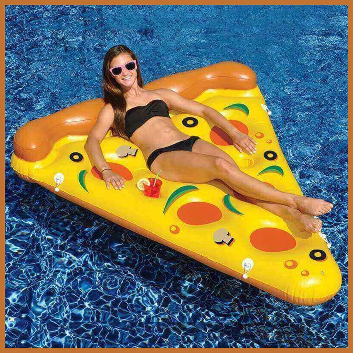 薄餅充氣浮床 Pizza