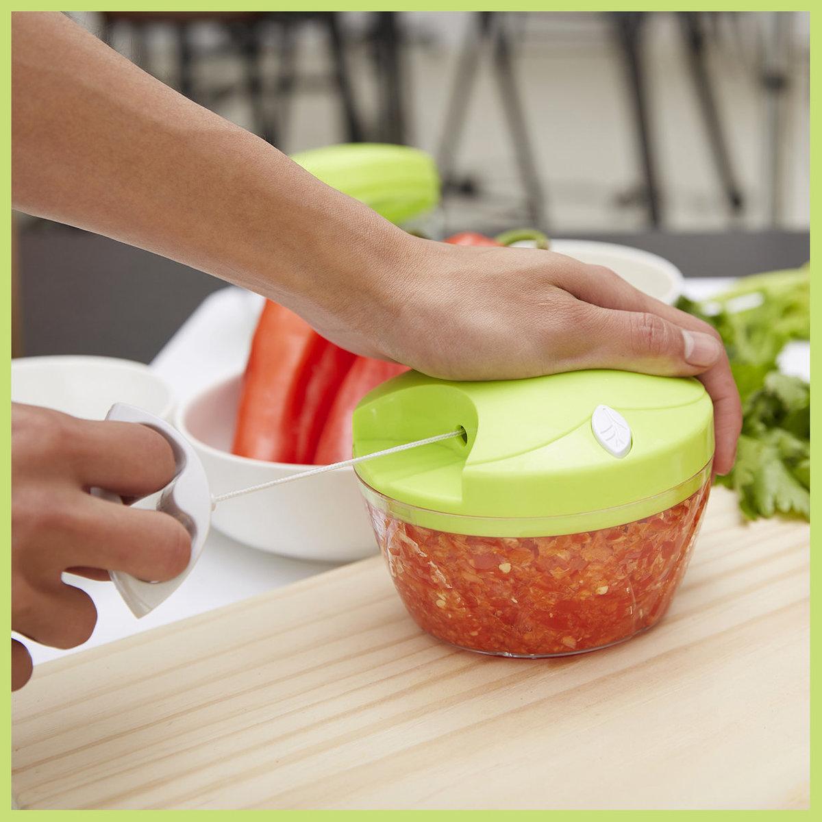 Manual Hand Pull Speedy Garlic/Vegetables Chopper Food Chopper