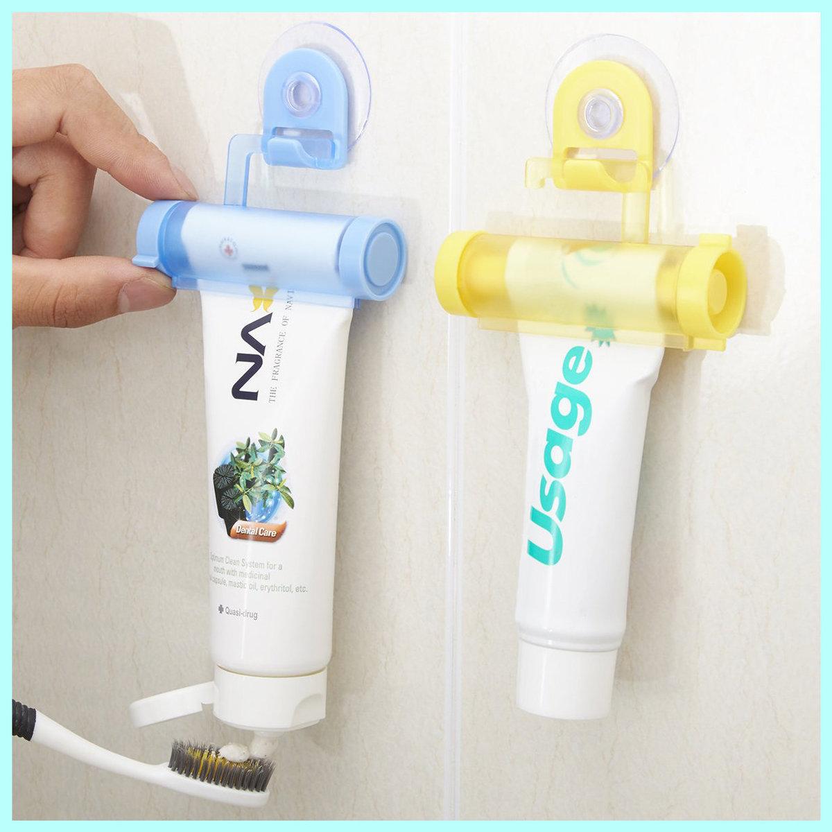 2 Pcs Easy Toothpaste Squeezer