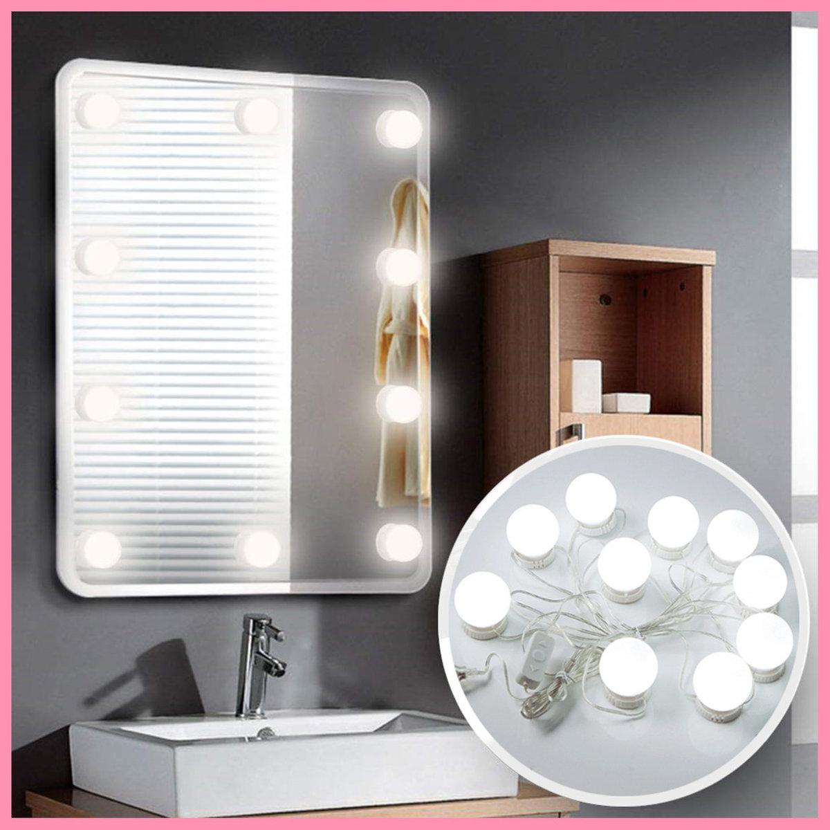 LED鏡前燈 含10個燈泡 舞台化妝前燈