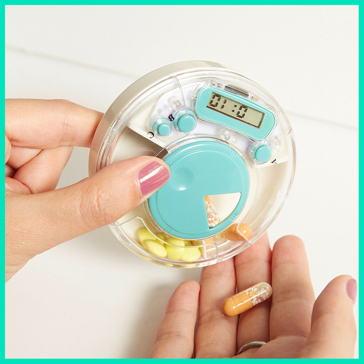 Smart Pill Case with Timer