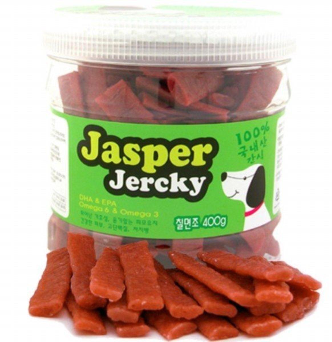 JASPER Premium Pet Food Turkey Jerky-100% Natural-DHA & EPA -Omega 6 & Omega 3