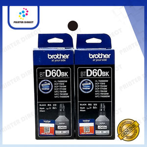 BROTHER BTD60BK 原廠黑色墨盒孖裝 (黑色 BTD60BK) 原裝行貨